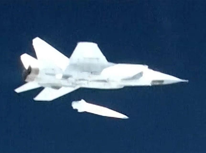 СМИ проинформировали  об удачных  испытаниях гиперзвуковой ракеты «Кинжал»