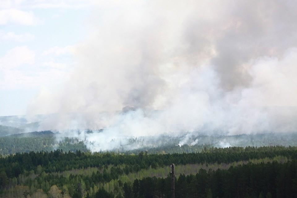 Город вИркутской области окутал дым из-за пожаров всоседних регионах