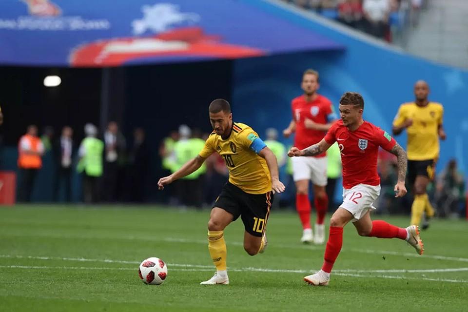Бельгия обыграла Англию изаняла 3-е место наЧМ пофутболу