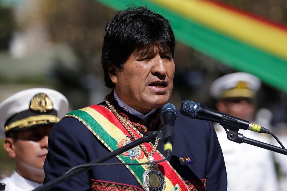 Президент Боливии: Трамп— «враг человечества ивсей планеты»