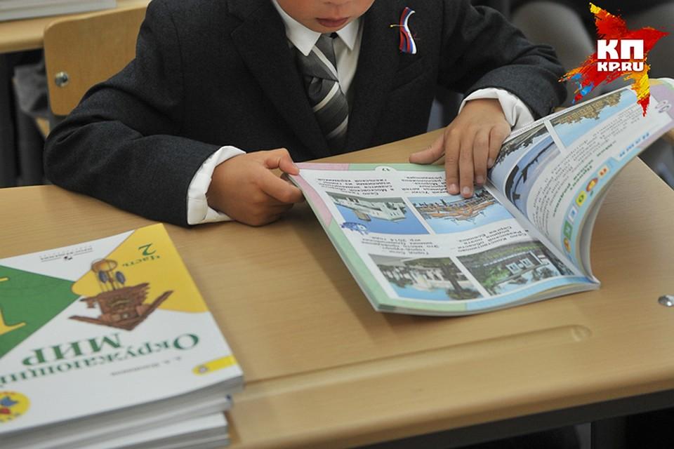 Брянская область закупила новые учебники для 1 и8 классов
