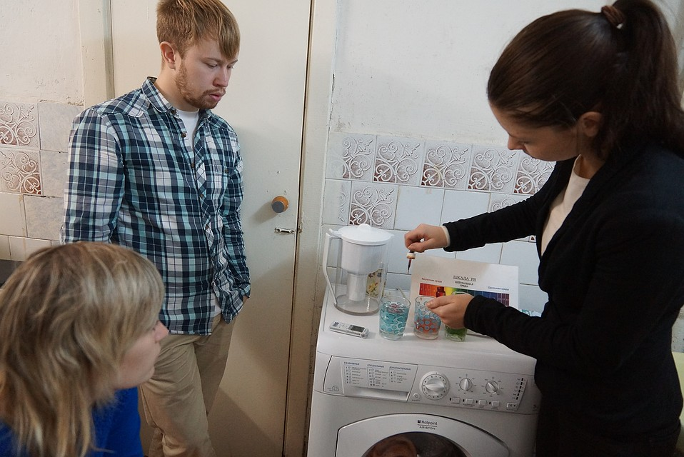 ВЧелябинске реклама пугает раком при использовании фильтрованной воды
