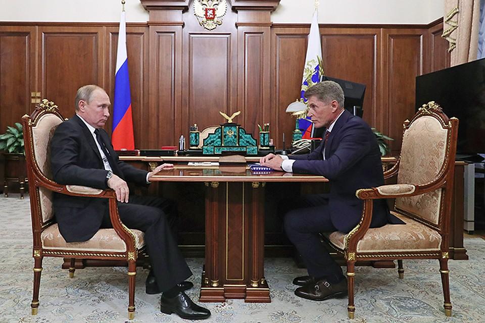 Путин поручил рассмотреть вопрос строительства моста наСахалин