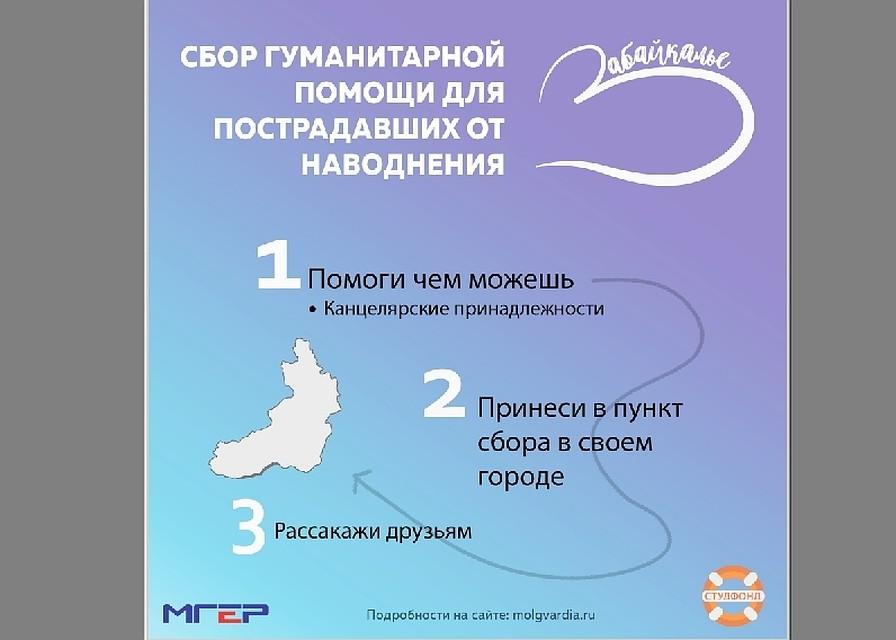 ВЧелябинске собирают гуманитарную помощь жителям Забайкалья