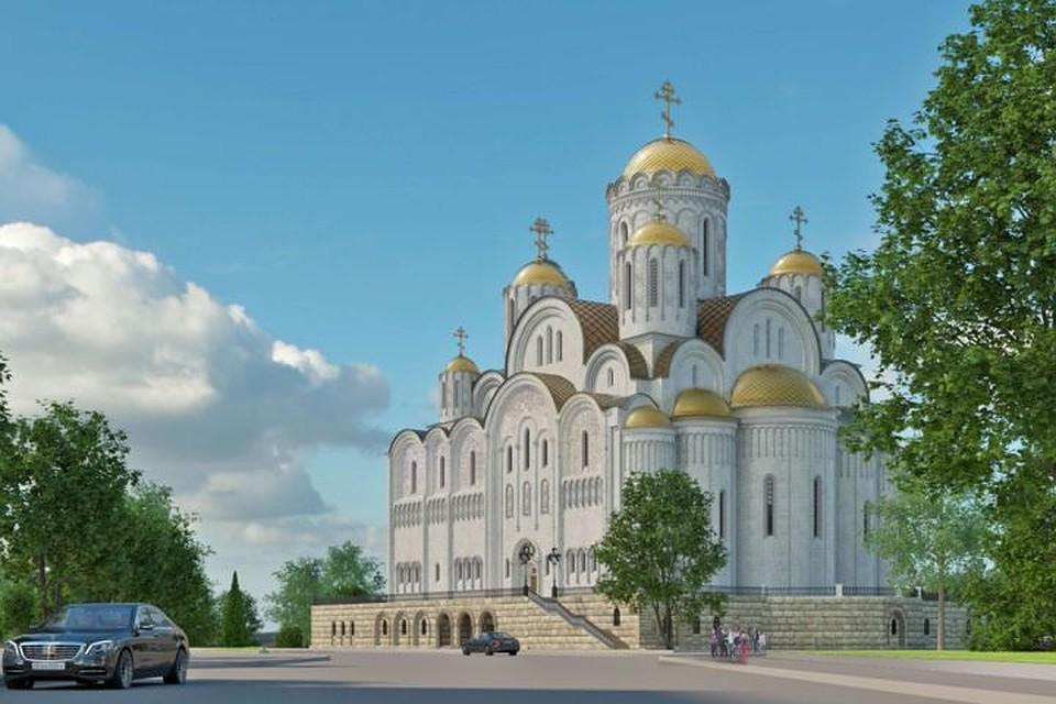 Размещен проект храма-на-драме, судьбу которого будут решать наградсовете губернатора