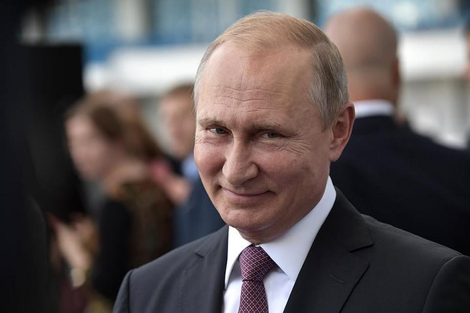 Владимир Путин празднует собственный  66-й день рождения