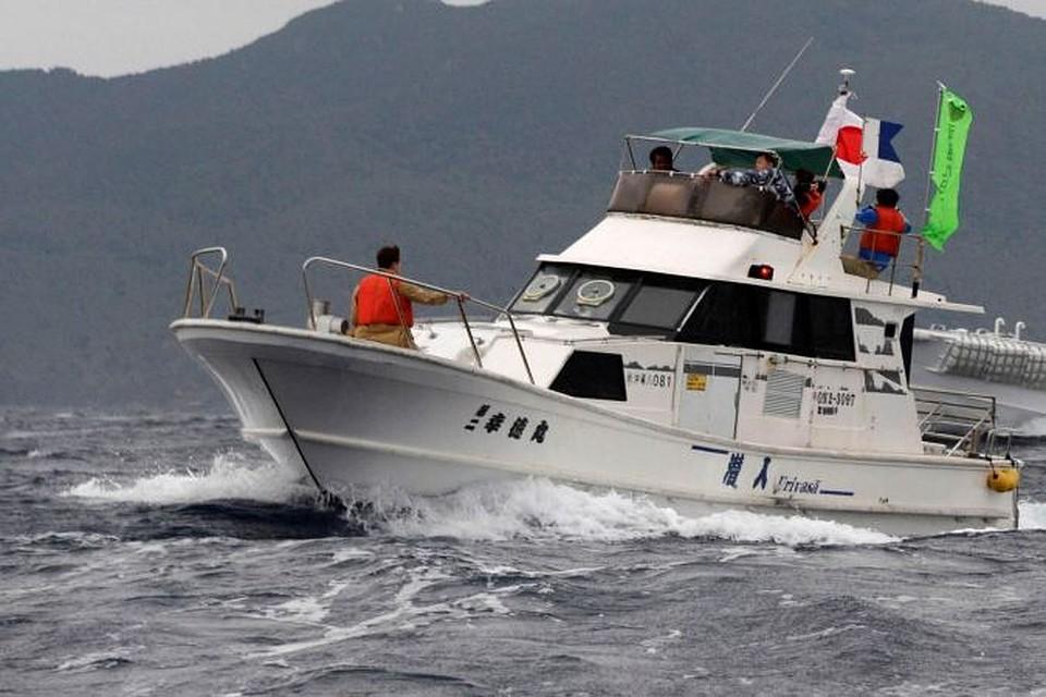 Три рыболовецких траулера столкнулись вЯпонском море