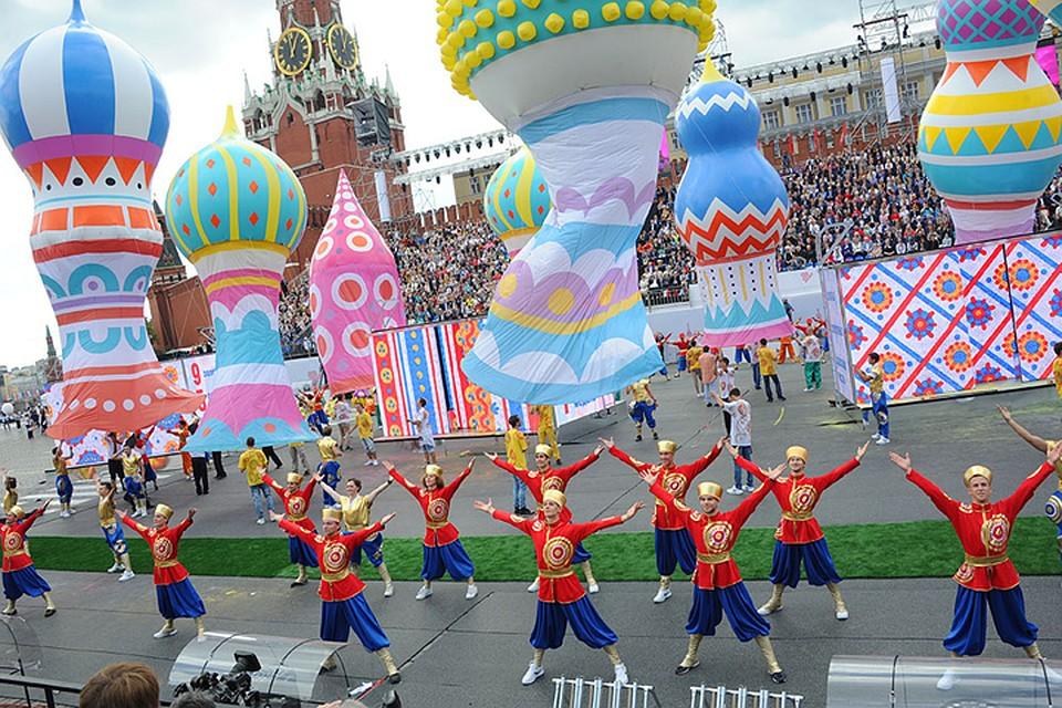 Москвичи утвердили программу Дня города