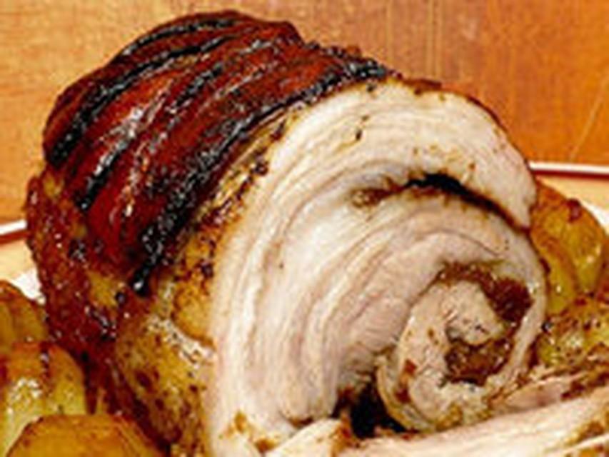 Рулет свиная грудинкаы