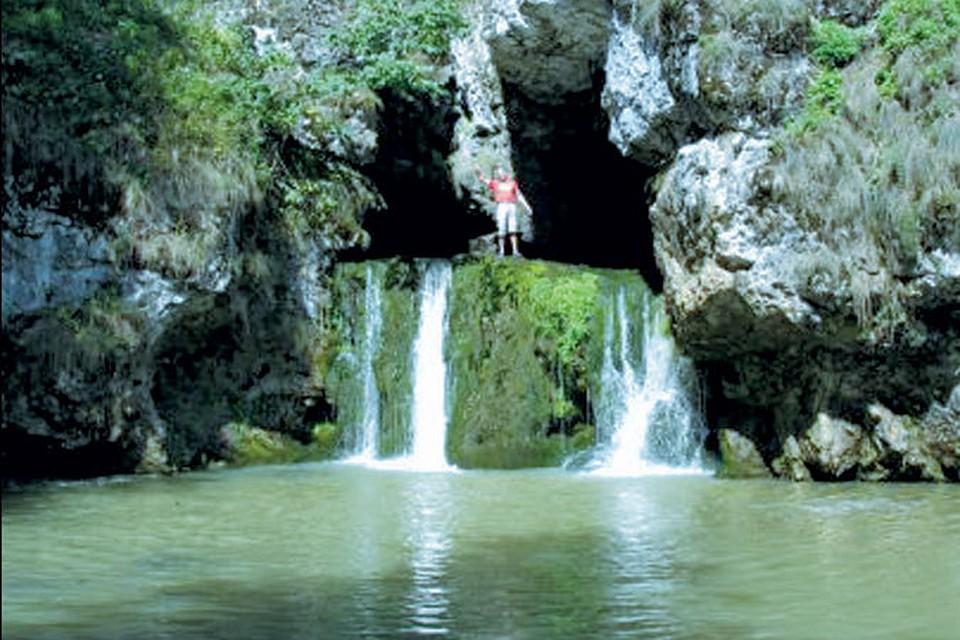В выходные туристы со всей Башкирии приезжают к водопаду Атыш