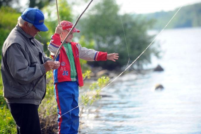 где в киевской области можно ловить рыбу с лодки