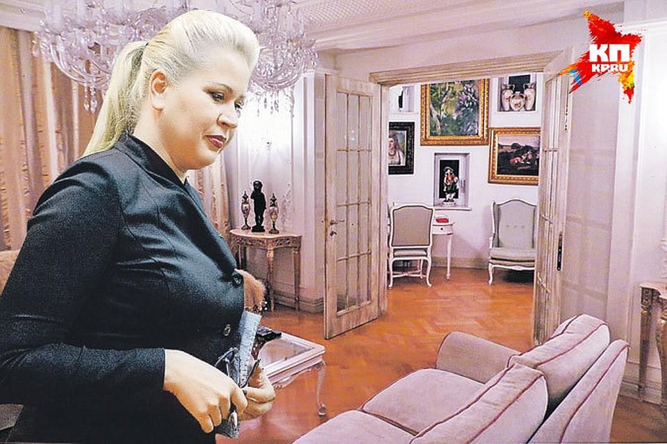 Домашний арест фигурантка дела о махинациях в «Оборонсервисе» несет, не отходя от своих картин, хрусталя и фарфора.