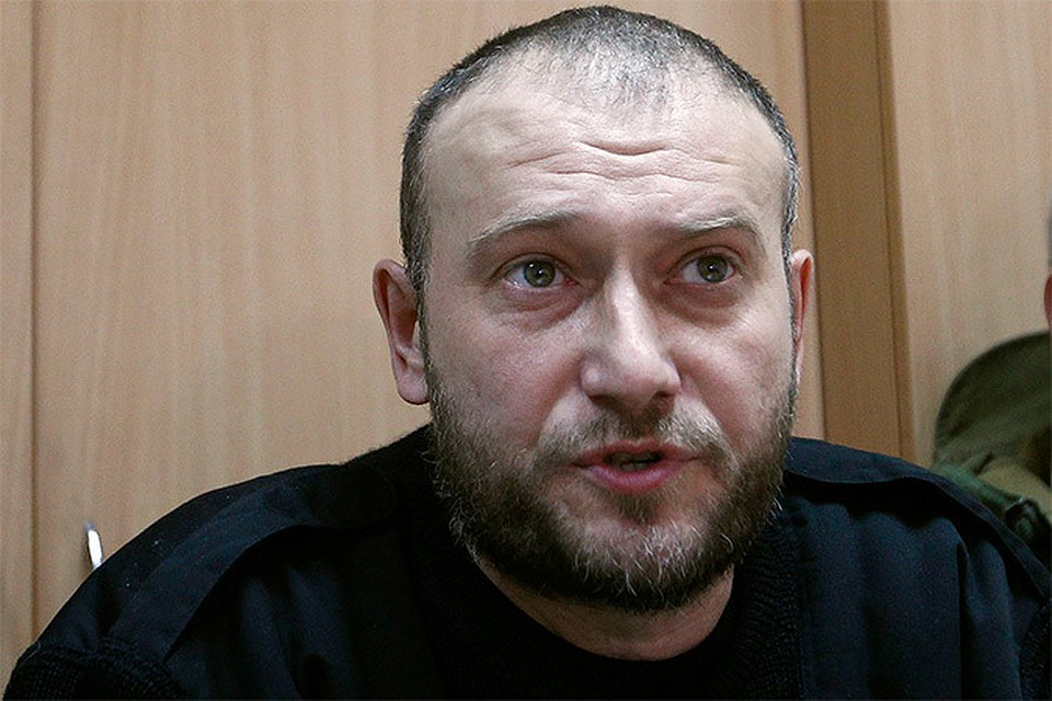 Лидер украинских националистов Дмитрий Ярош