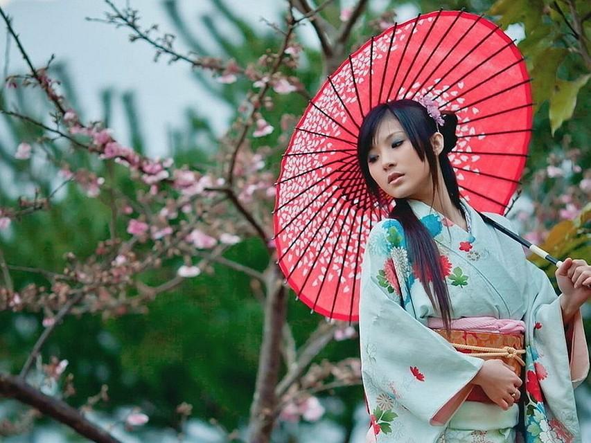 Красота девушек по японски