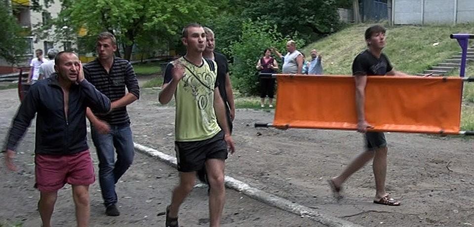 Украинские каратели продолжают геноцид мирных жителей Славянска