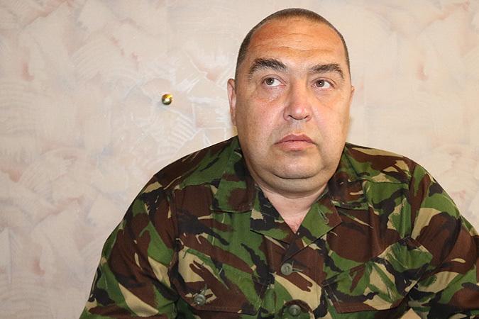 Министр обороны ЛНР Игорь Плотницкий