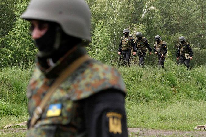 Украинские войска взяли под контроль Красный Лиман