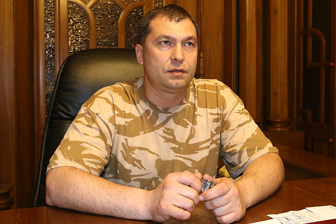 Глава Луганской народной республики Валерий Болотов Фото: Александр КОЦ