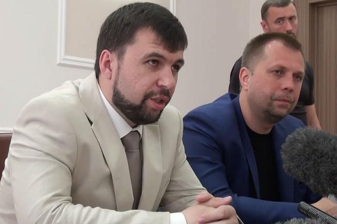Пресс-конференция президента и премьера ДНР