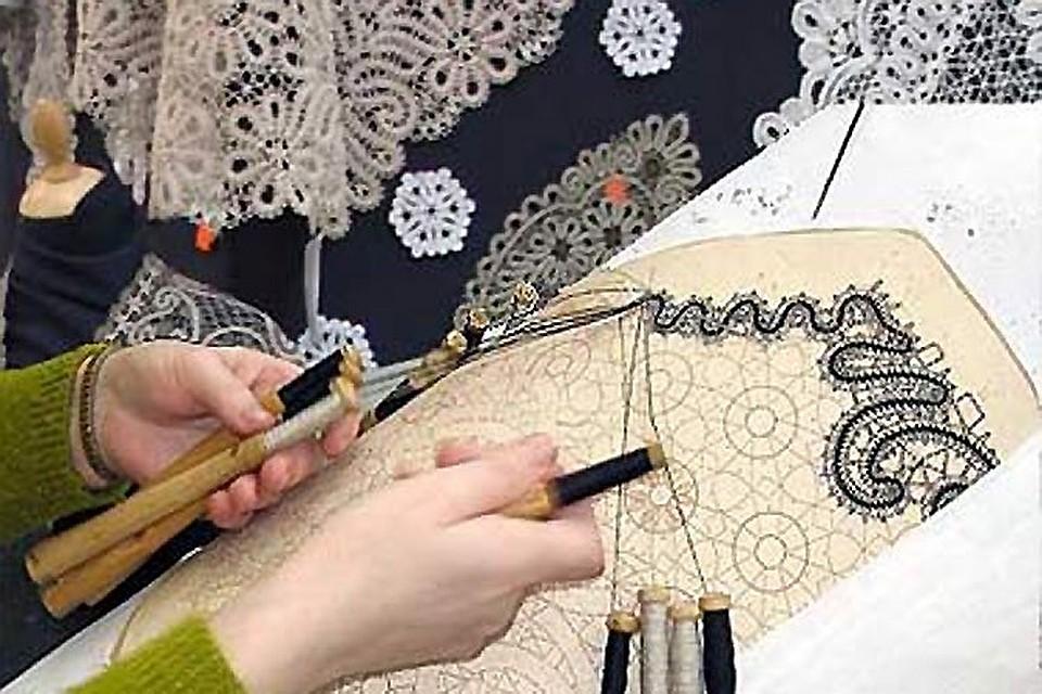 Уроки плетения вологодского кружева