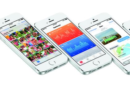 Дизайн iOS 8 выполнен в стиле предыдущей операционки.