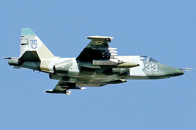 Су-25 украинских ВВС. Такой атаковал «Боинг». Фото: ТАСС