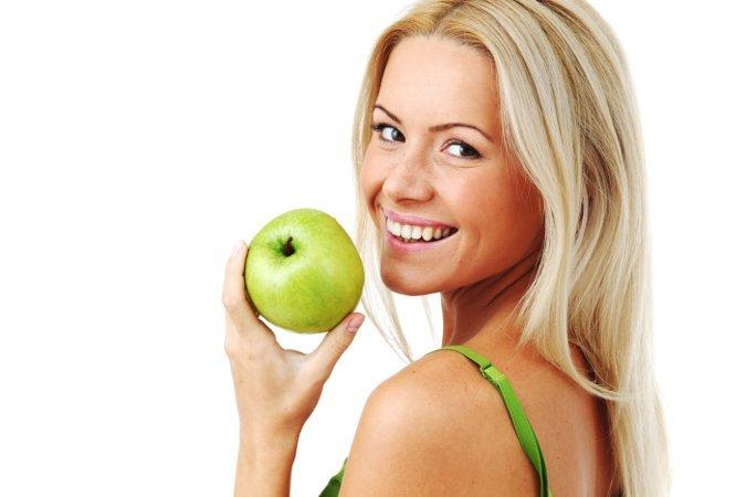 молодильное похудения яблоко
