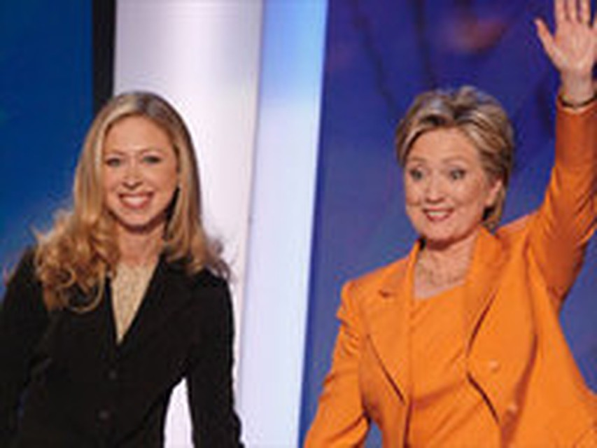 Hillary clinton daughter wedding