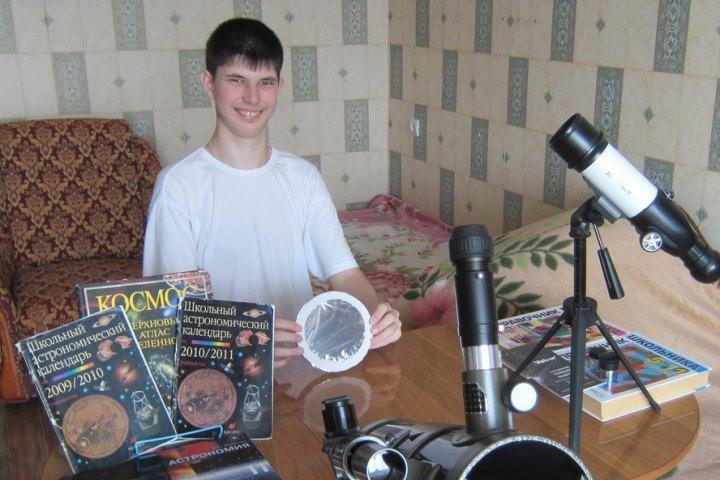 Юный астроном из приморья открыл еще две переменные звезды. Фото: vk.com/romanov_philipp