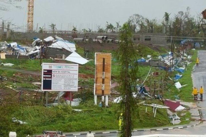 «Уинстон» оказался самым разрушительным циклоном за всю историю метеонаблюдений на Фиджи