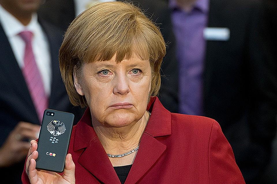 Американцы продолжают подслушивать Ангелу Меркель