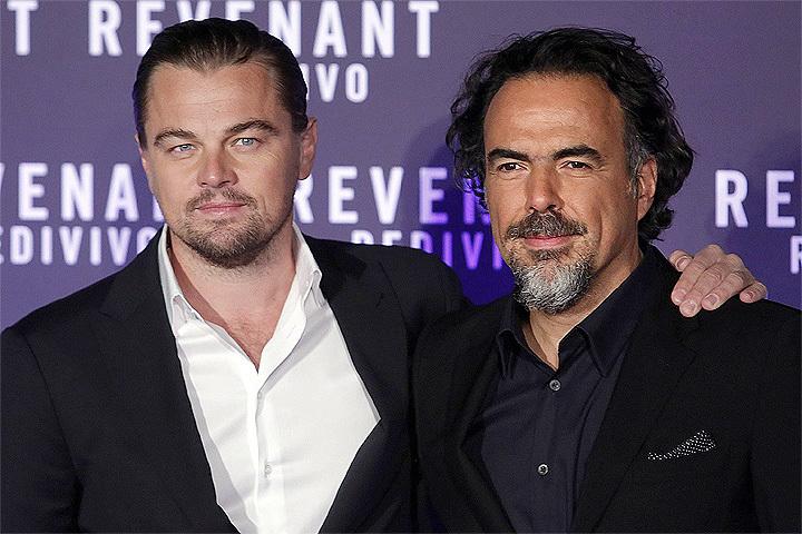 """У режиссера Иньярриту и актера ДиКаприо есть все шансы стать главными героями предстоящей церемонии вручения """"оскаров""""."""