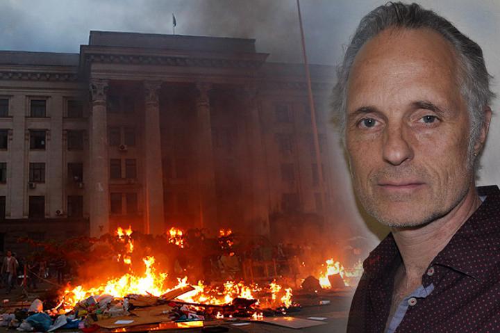 Ульрих Хайден еще в 2015 году пытался показать на Западе свой фильм о трагедии в Одессе Фото: REUTERS, личная страничка автора Ульриха Хайдена в Facebook