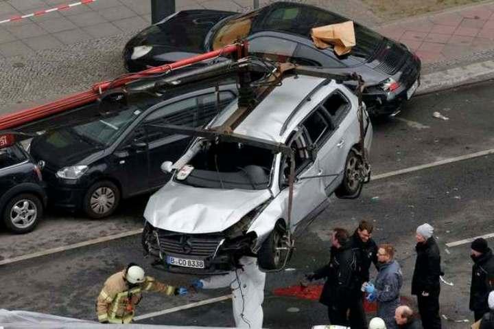 ЧП произошло в берлинском районе Шарлоттенбург, версию о теракте исключили
