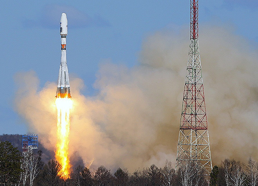 Запущенный скосмодрома «Восточный» спутник начал подавать обрывочные сигналы