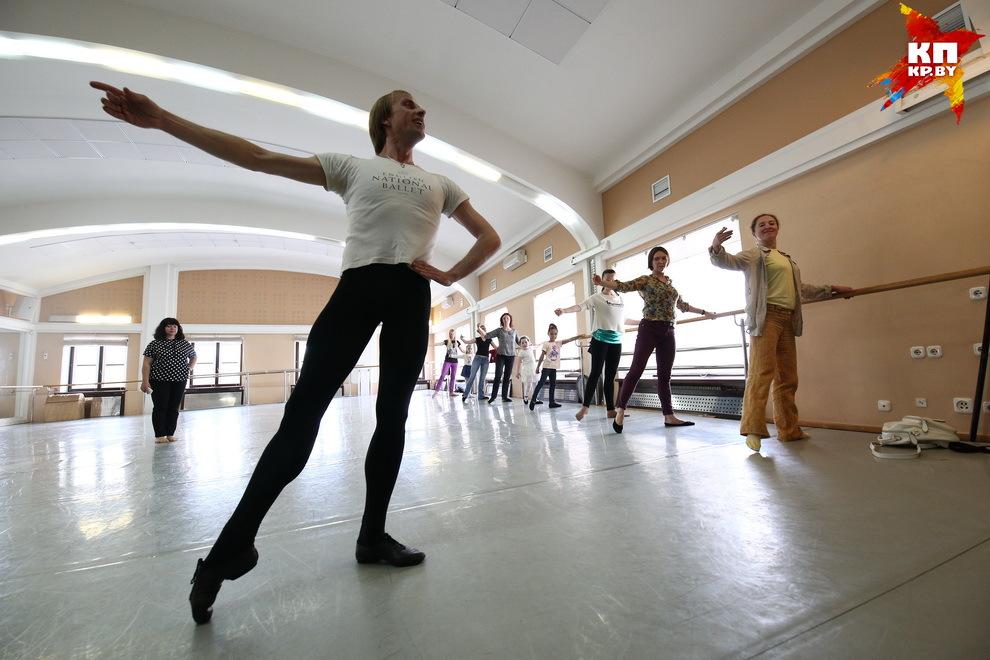 За это время не просто семь потов сошло, каждая мышца поняла, что стоит за словами «каторжный труд» артистов балета.