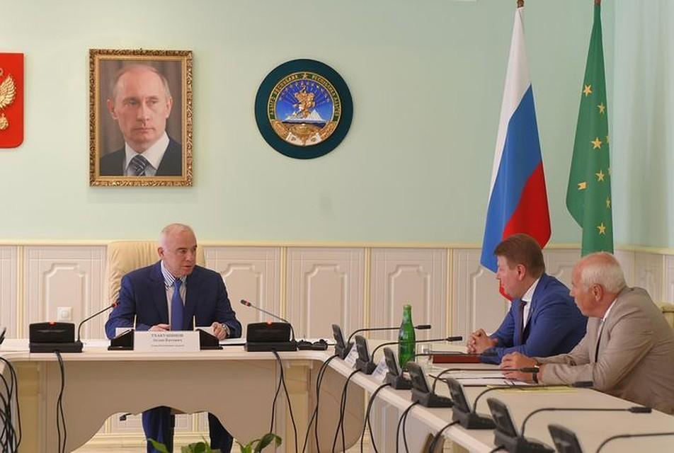 Фото: пресс-служба главы республики Адыгея.