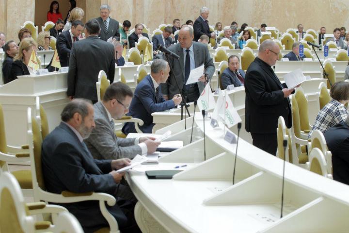 В парламенте определились с датой выборов. ФОТО: пресс-служба ЗС СПб
