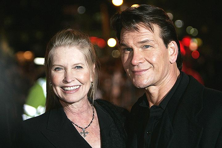 Актер с супругой Лизой в 2005 году.
