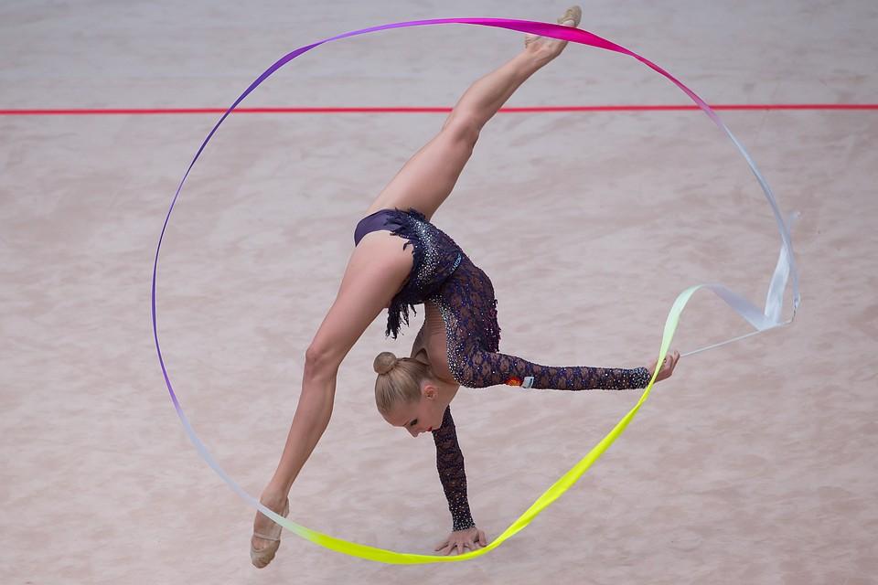 Яна Кудрявцева получила золотую медаль Чемпионата Европы по художественной гимнастике в Израиле