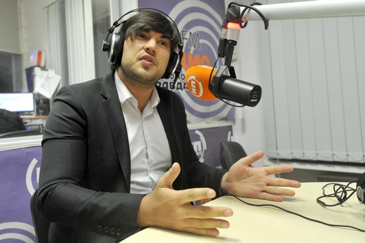 Бари Алибасов-младший в гостях у Радио «Комсомольская правда»