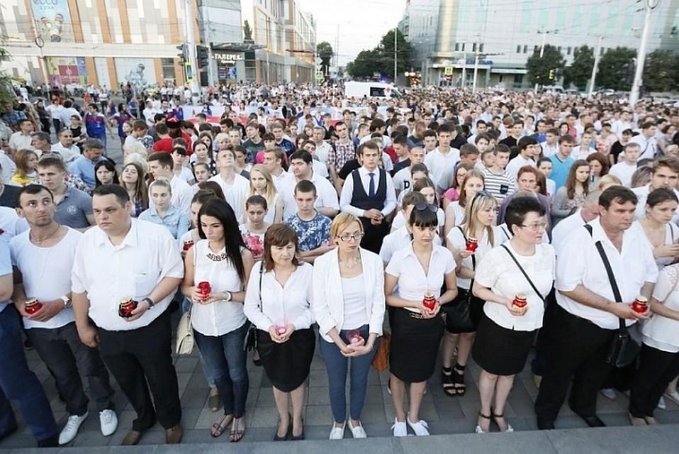 Граждане Кубани вДень памяти искорби почтили героев войны
