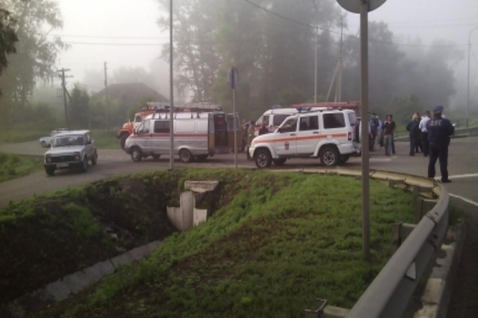 Два украинских авто столкнулись под Курском: 5 человек погибли