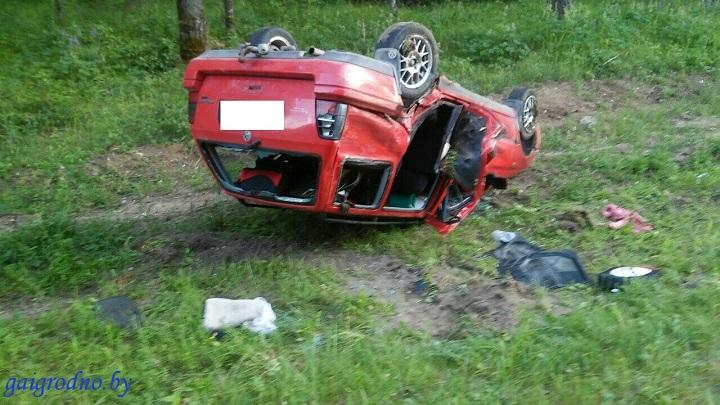 Автомобиль пострадавшей сильно поврежден