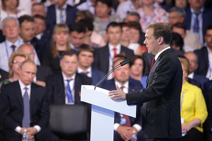 Всего Медведев предложил 29 кандидатур. Фото: Михаил Метцель/ТАСС