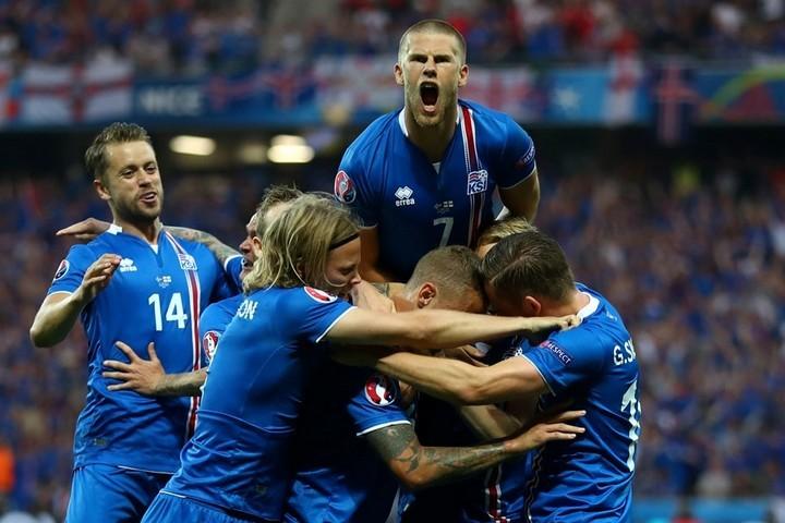 Исландия творит историю. Фото: uefa.com