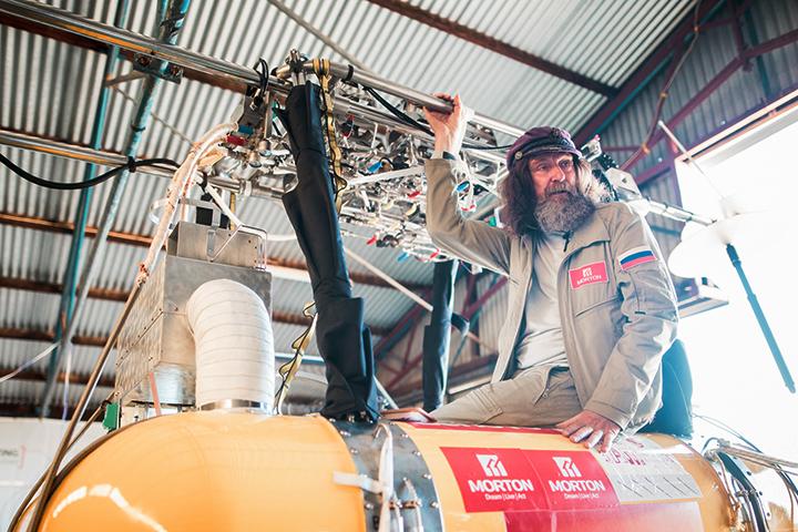 Конюхов приземлился вАвстралии после кругосветки навоздушном шаре