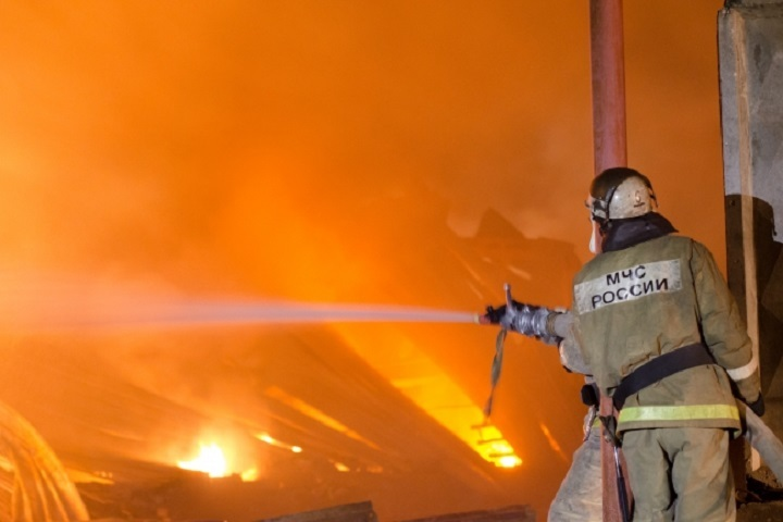 Пожар вдагестанском высокогорном селе Мокок локализован