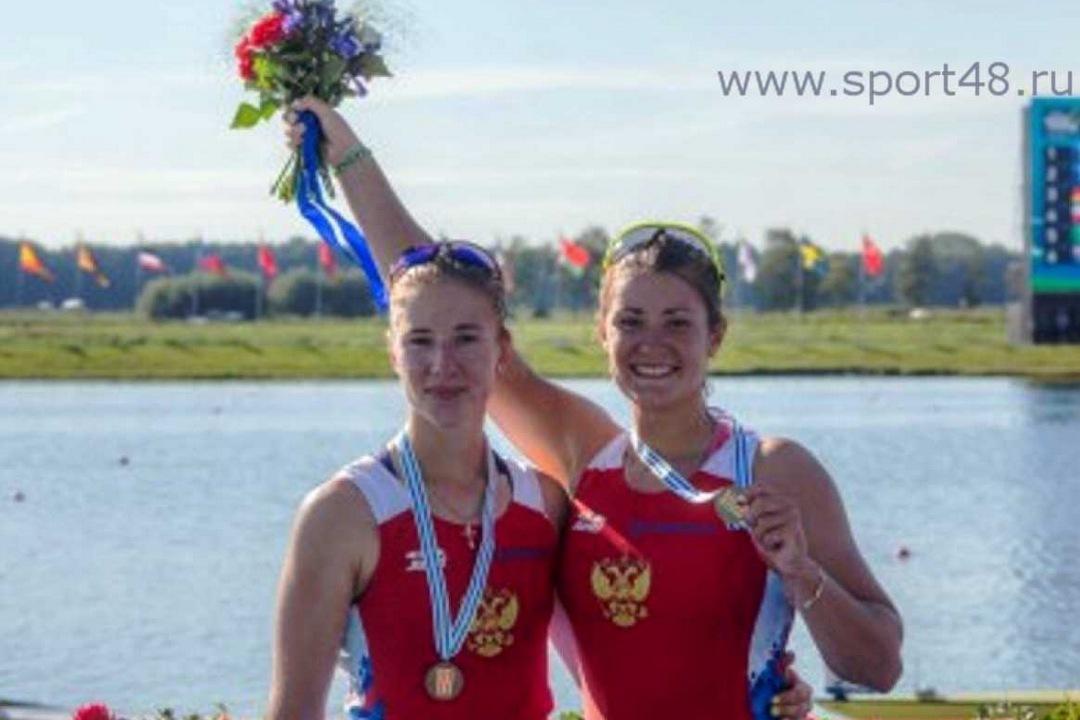 Липецкие спортсмены завоевали три медали напервенстве мира поакадемической гребле