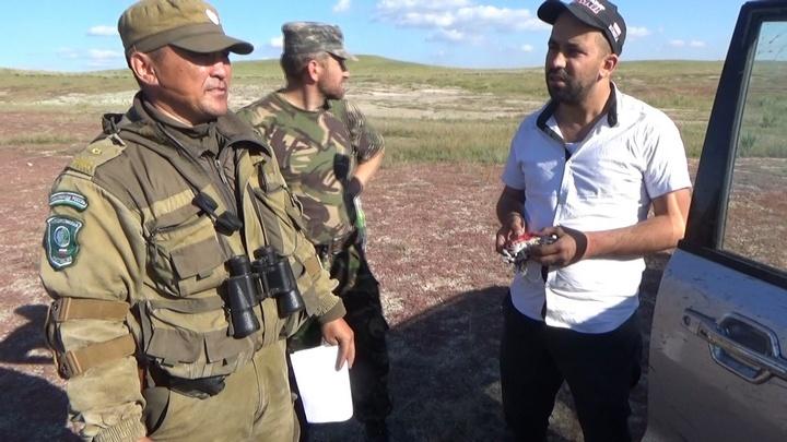 ВХакасии жители Сирии иКазахстана ловили краснокнижных соколов